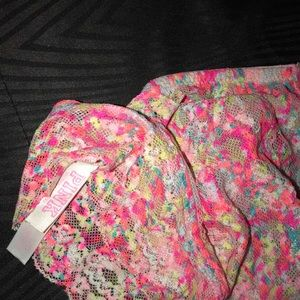PINK Victoria's Secret Intimates & Sleepwear - PINK VICTORIA'S SECRET TIE DYE BRALETTE LARGE